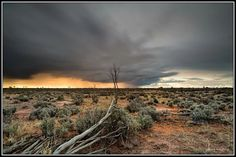 Broken Hill NSW - Looking forward to heading out there again this winter.   Canon 5D3, Ziess 21mm Distagon f2.8 lens - Shot settings, ISO 50,  21mm, f11 and a 30 second exposure. (Lee Big Stopper)