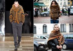 Images from left, clockwise: Gorunway; Anna Stokland; Tommy Ton Last season, Louis Vuitton's bold graphic jacket-scarf combo turned heads in the front row; this season, it hit the streets. Who wore it better? This...