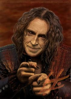 Make You A Deal by ~goldenrod1034 on deviantART ~ Rumplestiltskin of Once Upon a Time tv series ~ actor Robert Carlyle ~ digital art