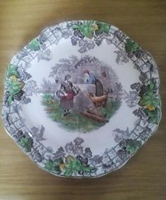 English Porcelain - Copeland Spode 'Byron' four division cake plate for sale in Durban (ID:220865924)