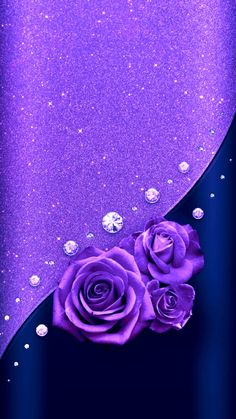17 ideas wallpaper backgrounds beautiful pretty purple for 2019 Purple Roses Wallpaper, Bling Wallpaper, Mobile Wallpaper, Wallpaper Backgrounds, Luxury Wallpaper, Wallpaper Ideas, Screen Wallpaper, Cellphone Wallpaper, Iphone Wallpaper