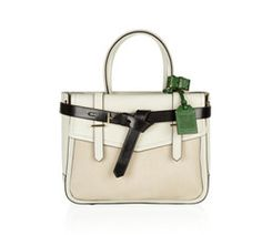 Monochrome tote by Reed Krakoff