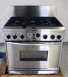 Kitchenaid Stoves And Ovens | KitchenAid Gas U0026 Electric Stove Oven  Stainless Range