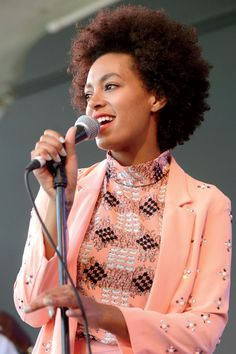 Pretty in Pink? Check out Solange Knowles Rocking Fall's Must-Have Hue