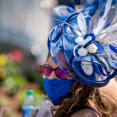 Royal Blue Kentucky Derby hat Kentucky Derby Hats, Royal Blue, Photo And Video, Instagram