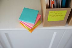 Use the Post-it Miami Color Collection to keep your notes visible and top-of-mind.