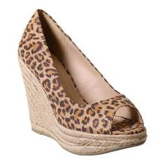 Image detail for -Animal Print Braided Wedges-CASUAL HEELS-Styles for Less Clothes ...