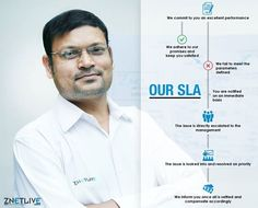 ZNetLive has one of the most transparent SLA in the industry. We provide you complete visibility into our commitments. Should we fail to adhere to them, you get an instant cashback!   Know more: https://www.znetlive.com/distinctions/our-sla
