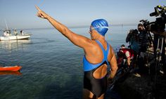 Diana Nyad: For never giving up on a dream! #swim