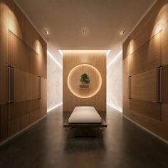 dutch design firm SEYD presents bi-directional symmetry yacht concept Spa Interior Design, Japanese Interior Design, Yacht Interior, Spa Design, Design Firms, Resort Interior, Salon Design, Contemporary Interior, Design Ideas