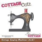 Cottage Cutz - Die - Vintage Sewing Machine