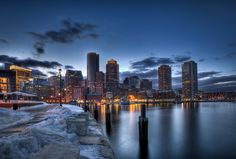 Boston, MA., fun to visit, just don't expect me to drive:)