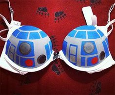 Take My Money - R2-D2 Bra $30.00