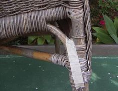 How To Fix Wicker Chairs