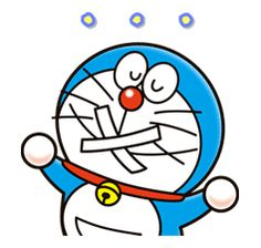 Celebrating the anniversary of the birth of Fujiko F. Fujio, creator of Doraemon, Perman, Kiteretsu, and many other well-loved characters. Doremon Cartoon, Cartoon Characters, Baby Stickers, Cartoons Love, Cute Emoji, Ding Dong, Animated Cartoons, Line Sticker, Cosmic