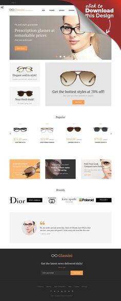 a68f9eec890 Glassini - Glasses Store Responsive PrestaShop Theme