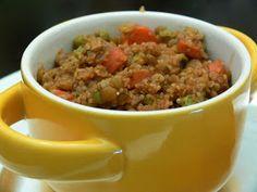 Quinoa lentil casserole. Wasn't bad, wasn't great. Prefer my Mediterranean Quinoa Casserole better!