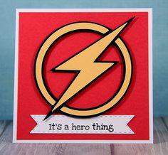 Snappy Scraps: Super Hero Central