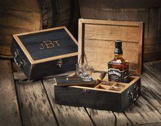 Heritage Handcrafted Celebration Box #wiskey #woodcraft