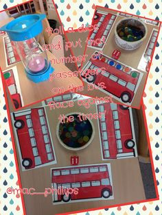 Bus themed mathematics challenge Maths Eyfs, Eyfs Activities, Activities For Kids, Numeracy, Eyfs Classroom, Classroom Ideas, Early Years Maths, Early Math, Early Learning