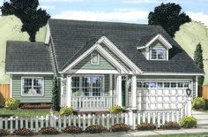 Craftsman Plan: 1,570 Square Feet, 3 Bedrooms, 2 Bathrooms - 4848-00320
