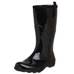 Kamik Womens Heidi Rain Boots Black 6  Toe warmers Bundle * Want additional info? Click on the image.(This is an Amazon affiliate link and I receive a commission for the sales)