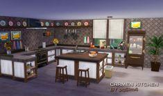 PQSims4: Carmen Kitchen • Sims 4 Downloads