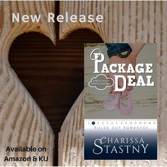 Hey! The next book in the Ruled Out Romances is out today. Hooray! #CharissaStastny #RuledOutRomances #PackageDeal #amreading