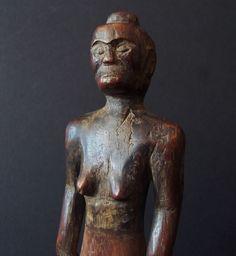 Papua New Guinea, Timor Atoni ancestor figure, glossy patina, Oceania, Oceanic, Sepik, Dayak, Batak, Borneo, Polynesia, Betelnut, Sumba by AkerArts on Etsy