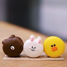 Macaron Fimo, Macarons, Macaron Recipe, Amazing Food Art, Matcha Drink, Cony Brown, Kawaii Dessert, Delicious Deserts, Japanese Dishes