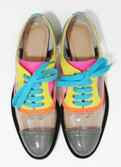 clown shoes... who designed these!??!
