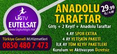 Eutelsat Digiturk Lig Tv Anadolu Taraftar Paketi Kampanyası - Üye Ol 0850 480 7 473