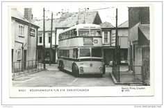 vintage bournemouth buses - Google Search Bournemouth England, New Forest, Busses, Coaches, Old Houses, 1960s, Transportation, Past, British
