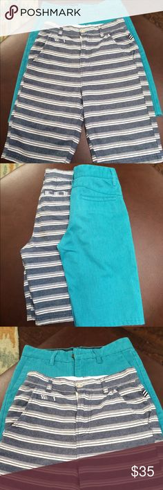 TWO BOYS SHORTS SIZE 10 and 12 Worn once or twice.. One is made by Splendid and one is Valcom Splendid Shorts