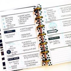 #minihappyplanner #layout #ideas #inspiration