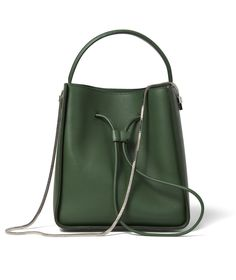 3.1 Phillip Lim Soleil Small Bucket Drawstring Bag in Leather