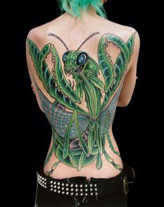 6 Praying Mantis Tattoo Meaning