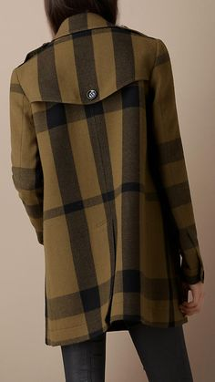 valentino swing coat