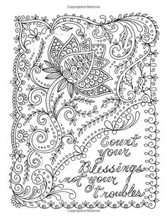 Serenity Coloring Page For Grown Ups