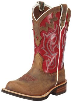 How can you go wrong with RED boots?  Ariat Women's 10 Inch Unbridled Western Boot Style: A10010198