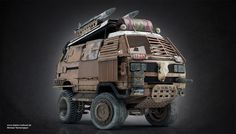 Concept cars and trucks: Vehicle concepts by Michael Tschernjajew