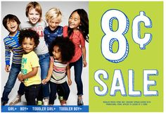 Crazy 8 Sale ~ Buy One Get One for 8 Cents! - TrueCouponing