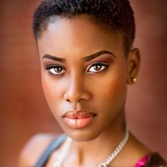 Natural Looking Eye Makeup for black women   Hot Hairstyles for Black Women with Short Hair