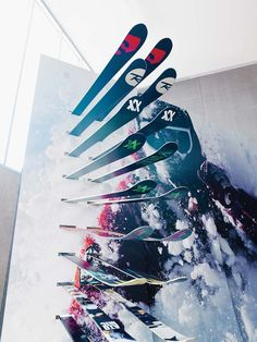 Formica® Envision™ Skier Retail Wall #Formica #Envision - More about retail…
