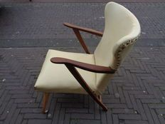 Onbekende ontwerper - vintage vlinder fauteuil
