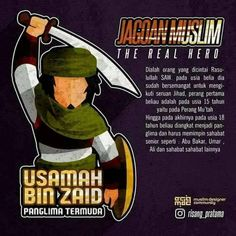 Usamah Bin Zaid Islamic Messages, Islamic Quotes, History Of Islam, Learn Islam, Islamic World, Real Hero, Hadith, Alhamdulillah, Quran