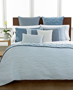 CLOSEOUT! Hotel Collection Finest Waves Bedding Collection - Duvet Covers - Bed & Bath - Macy's