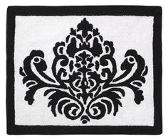 Black and White Isabella Accent Floor Rug by Sweet Jojo Designs Sweet Jojo Designs,http://www.amazon.com/dp/B005F43I32/ref=cm_sw_r_pi_dp_6Hvwtb09H83KGP1M
