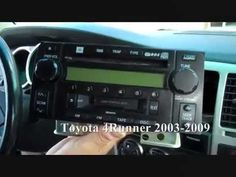 toyota highlander car stereo removal and repair 2001 2007 toyota rh pinterest com Toyota Tundra Bed 2014 Toyota Tundra Platinum