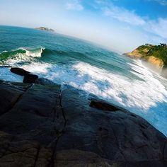 Cada praia com seu charme #joatinga #praiadajoatinga #goprorj #goproerrejota #rioetc #goprooftheday #errejota #napraiaRIO